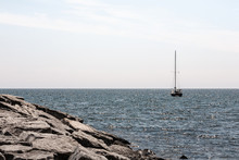 Sailboat On Lake Huron