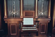 Organ Is A Church Musical Instrument.