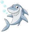 Lachender Hai - Vektor-Illustration