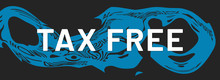 Tax Free Web Sticker Button