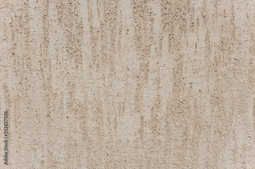 Photo Wall with the application of concrete preparations for finishing putty