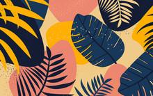 Collage Floral Pattern. Modern...