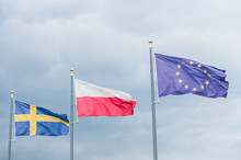 Flags Fluttering In The Wind: ...