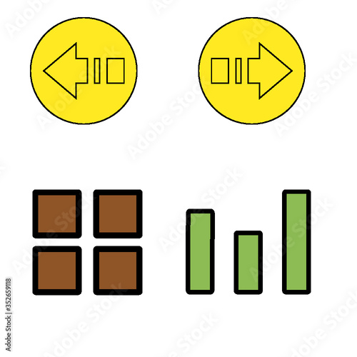 set of business icons - 352659118