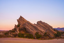 Rock Formations On Landscape A...