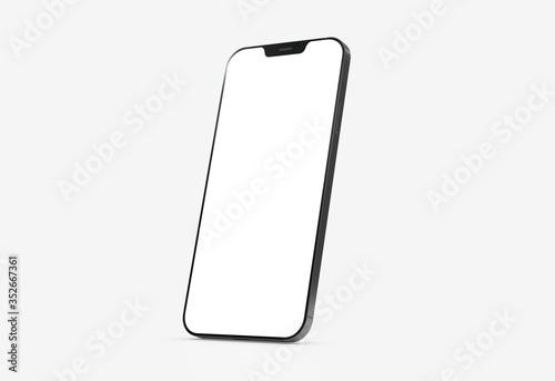 Fototapeta mobile smartphone device digital isolated 3d obraz