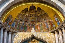 St Mark`s Basilica Close-up, V...