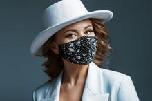 Elegant Woman Wearing Trendy F...