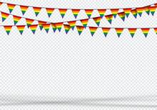 Bunting Hanging Banner LGBT Ga...