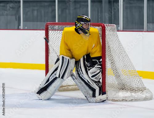 Fotografía ice hockey goalie