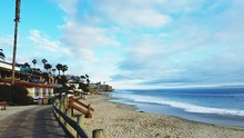 Buildings By Sea At Laguna Beach