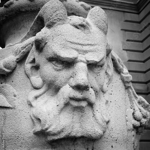 Fototapeta Statue Of Satyr