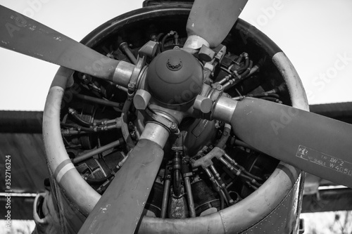 Photo Low Angle View Of Propeller