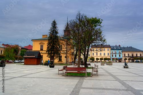 Nowy Targ Market Square - fototapety na wymiar