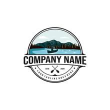 Nature, Vacation Rental Logo Design, Outdoor Logo And Landscape