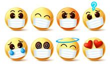 Emoji Smiley With Covid-19 Fac...