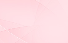 Abstract Geometric Pink And Wh...