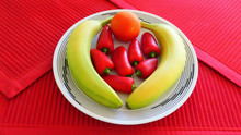 Healthy Diet Food Red Peppers ...