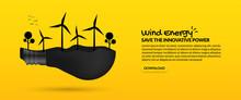 Wind Turbine Inside Light Bulb...