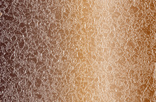 Distressed Overlay Texture Of Golden Stones, Rocks, Pebbles, Macadam. Grunge Background.