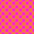 canvas print picture - Pink Batik Stylish and Colorful Design