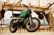 Restored Classic Motorcycle Wi...