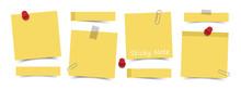 Flat Design Yellow Color Stick...