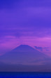 canvas print picture - mount fuji at sunset