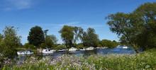 The River Ouse At Naburn Lock Near York