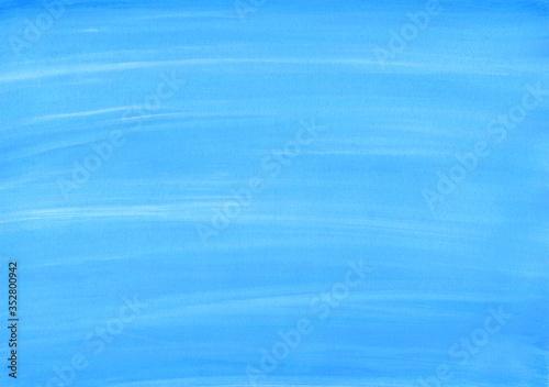 Photo 青い絵の具色2