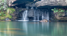 Secluded Waterfall In Drakensb...