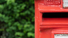 Red Post Box In A Rural Warwic...