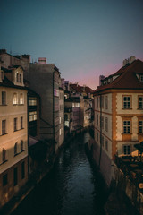 Fototapeta na wymiar Prague old town at night