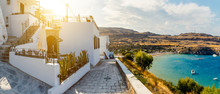 Beautiful House In Lindos On B...