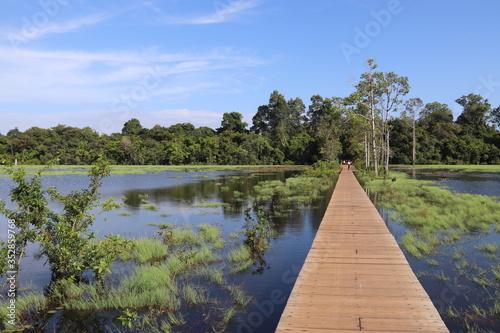 Fényképezés Angkor - Temple Neak Pean