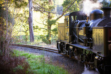 Puffing Billy Train In Melbour...