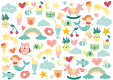 Sweet Heart Colourful Cute Ico...