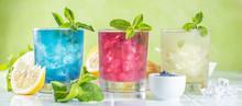 Selection Of Matcha Lemonades ...