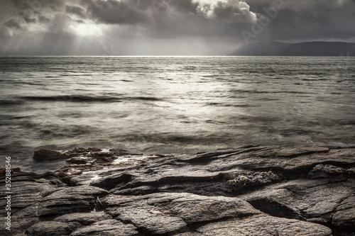 Kintyre Seascape 4 - Scottish Highlands Canvas Print