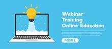 Online Education Concept Banne...