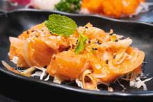Thai Style Spicy Salmon Dice S...