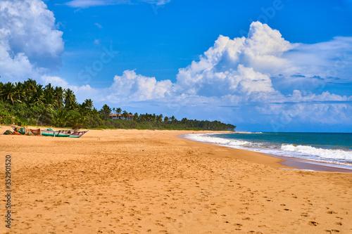 Obraz Tangalle Beach Sri Lanka Ceylon - fototapety do salonu