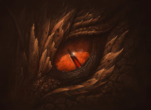 Eye Of Fantasy Dragon