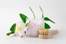 Transparent Plastic Jar With L...