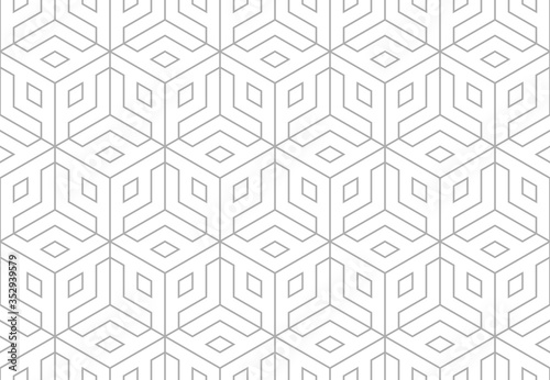 Fotomural The geometric pattern with lines