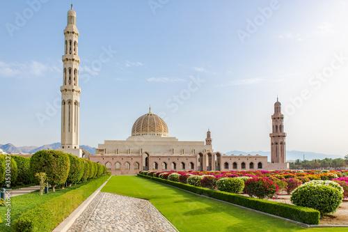 Photo Sultan Qaboos Grand Mosque