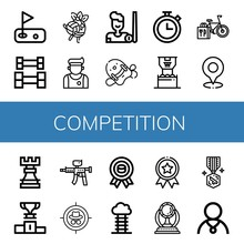 Set Of Competition Icons
