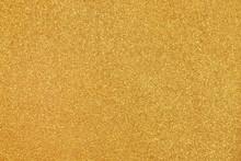 Gold Wall Gravel Texture Abstr...