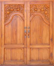 Carving Teak Entrance Wooden D...