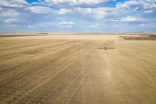 Bird's-eye View Of A Farming F...